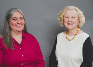 Marie Segares and Regina Paul photo