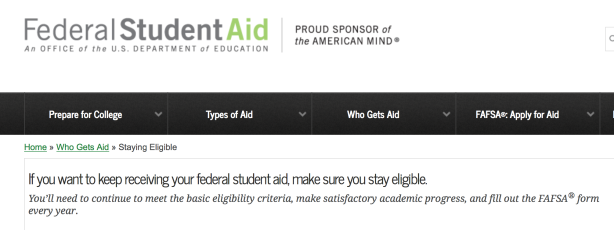Financial Aid FAFSA