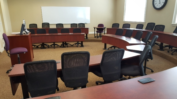 High Point College Classroom