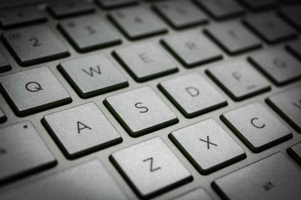 gray keypad
